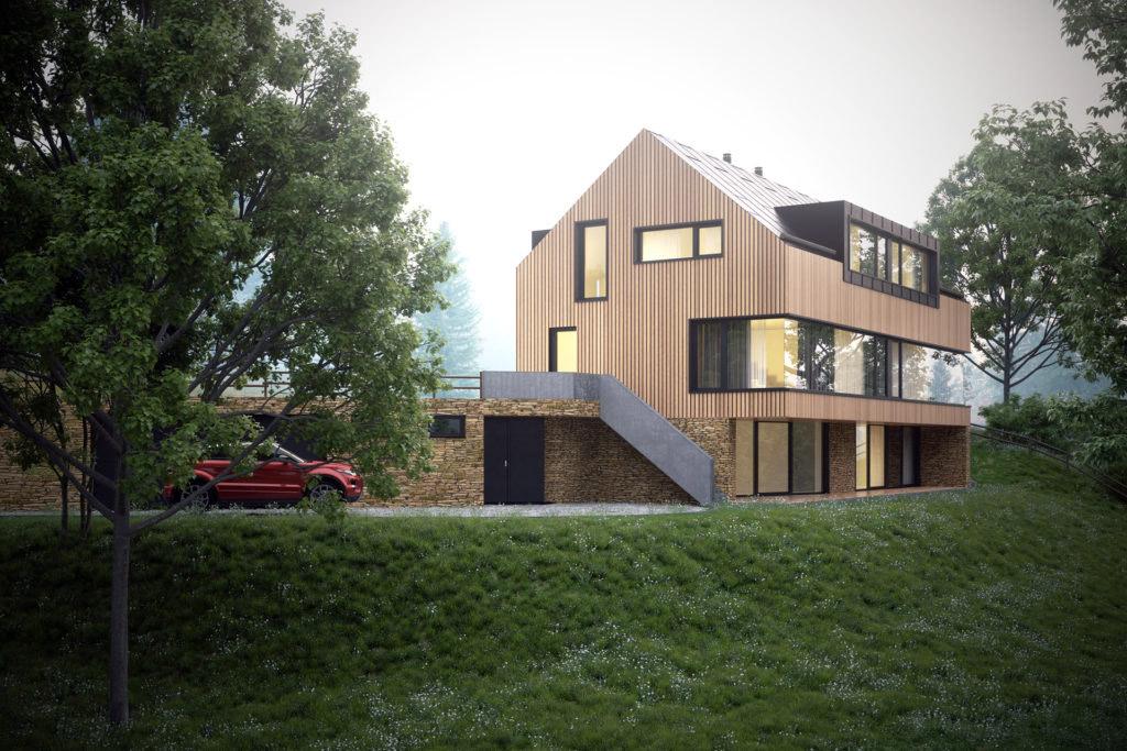 Vizualizace pro architektonické studio ADR