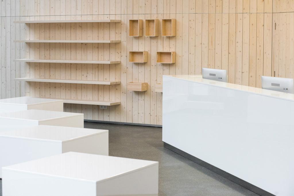 Informační centrum TO JE Brno od architekta Petra Hrůši. Fotografie Jiří Hloušek