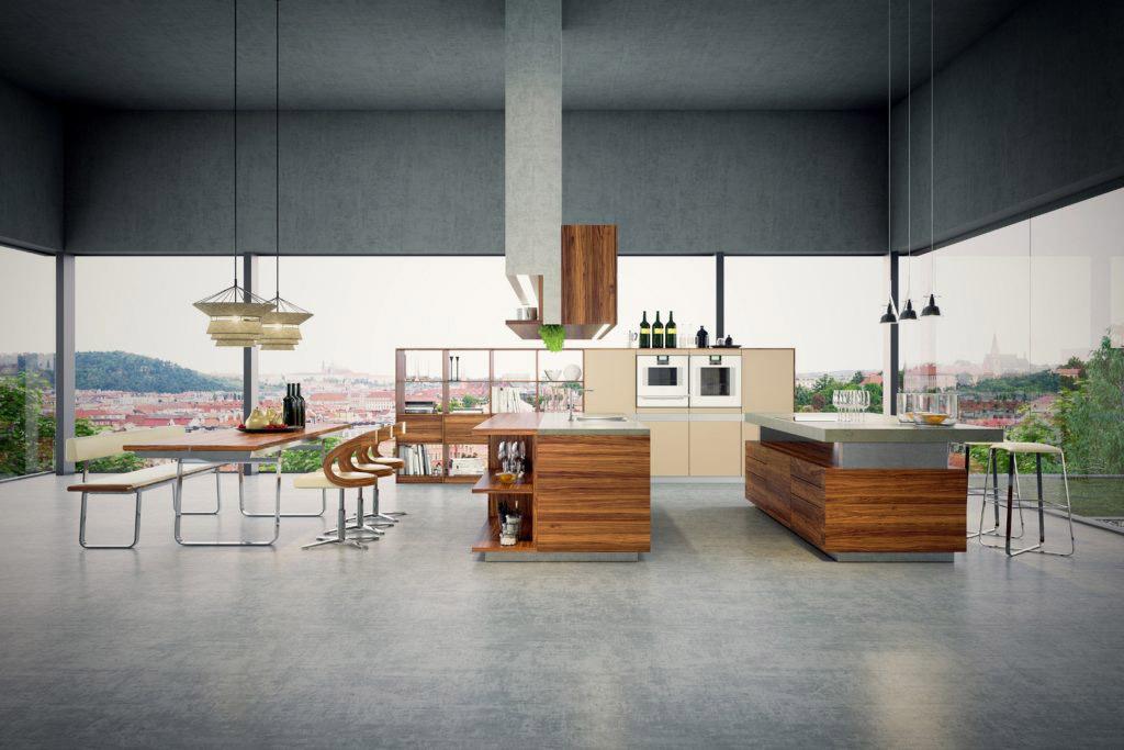 Vizualizace kuchyně pro video kampaň, 3d animace, klient Decoland