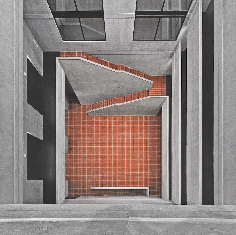Budova FA CVUT od architektky Aleny Šrámkové