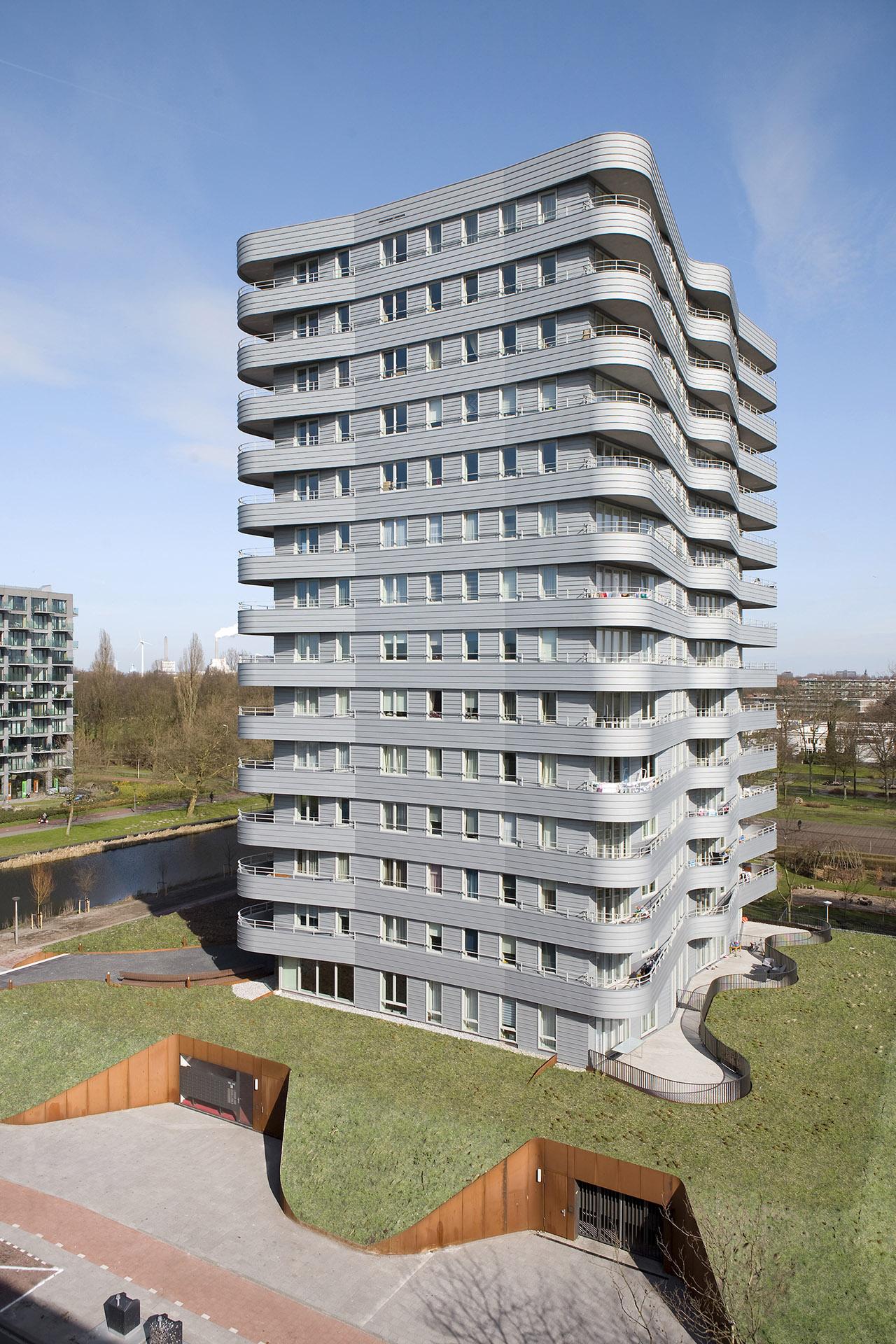 Dům ze studia další porotkyně Marianne Loof De Zilverling z Amsterdamu