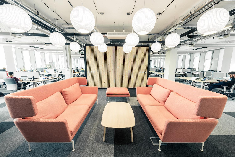 Prostory společnosti STRV, výherce kategorie Chytrá kancelář v uplynulém ročníku Zasedačky roku