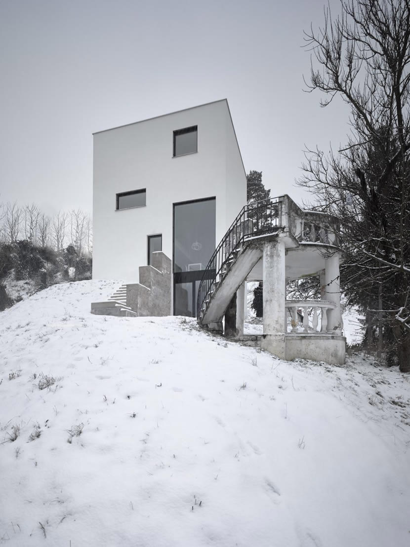 RODINNÝ DŮM VE VŠENORECH, Stempel & Tesař architekti, Foto Filip Šlapal