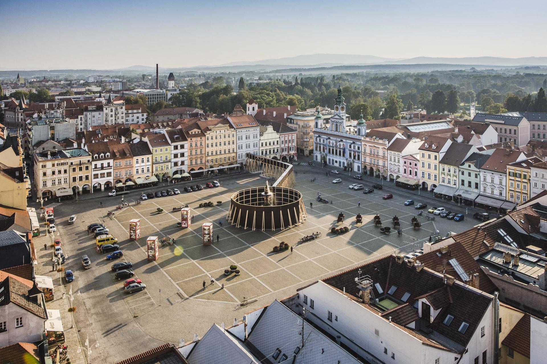 Projekt Vnímání, České Budějovice. Foto Tomáš Malý