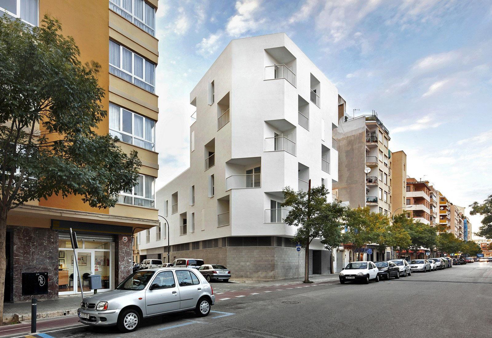 Sociální bydlení v Palma, architekt Ripolltzion, archiv Ripolltizon