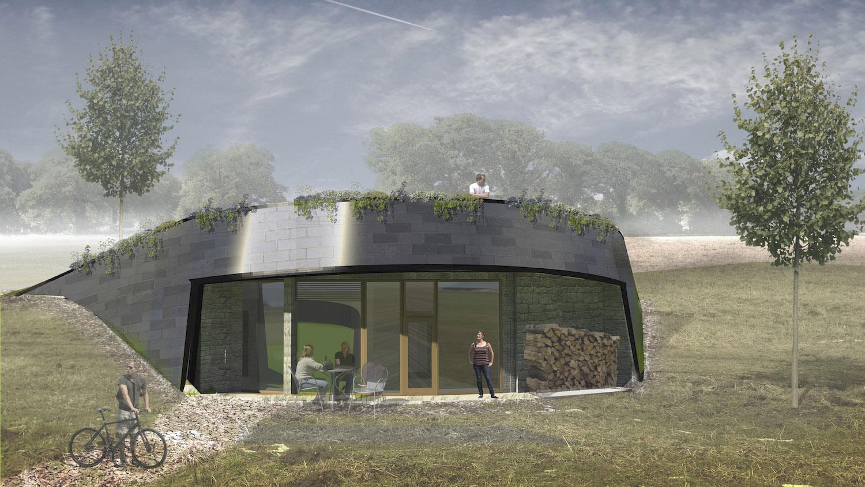 Integrované fotovoltaické panely v kombinaci s bateriovým úložištěm zajišťují budovám energetickou nezávislost, autor: Martin Stark, Petr Čmelík