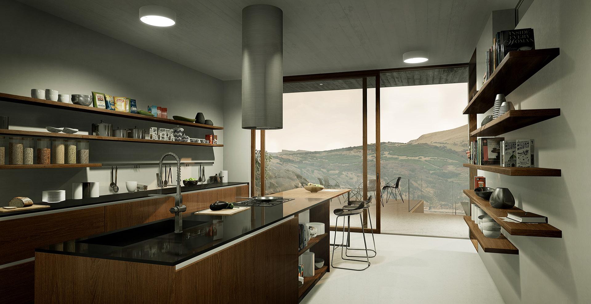Vizualizace z prostředí rt-VISUAL, projekt Dream house